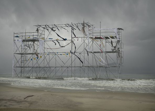 série Pathetic Fallacy - Monument (Mast), 2011