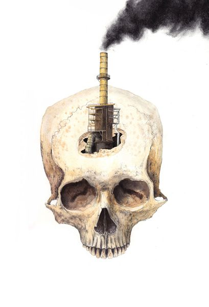 série Disconnected - Trepanned Skull II, 2010