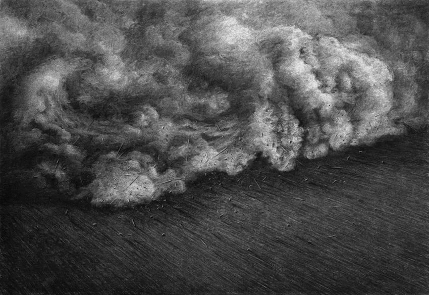 série The Collapse of Cohesion - Cloud, 2014
